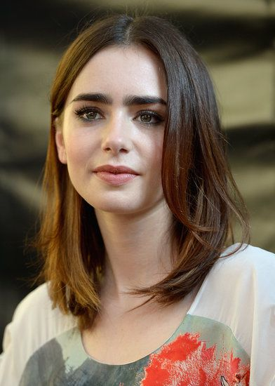 25 Best Ideas About Lily Collins Hair On Pinterest Lily Collins