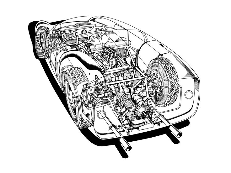 1000+ images about Cutaways / Blueprints on Pinterest