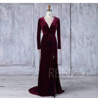 25+ best ideas about Velvet bridesmaid dresses on ...