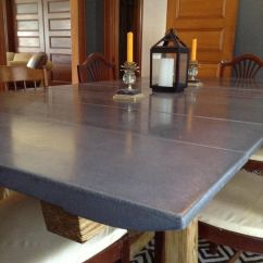Kitchen Table Set With Bench Pantry Doors Home Depot [fan-made] This Concrete Dining Room Was Produced ...