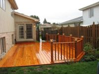 ground level cedar deck | Architectual stuff | Pinterest ...