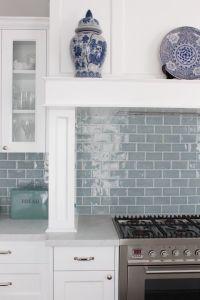 25+ best ideas about Blue subway tile on Pinterest | Blue ...