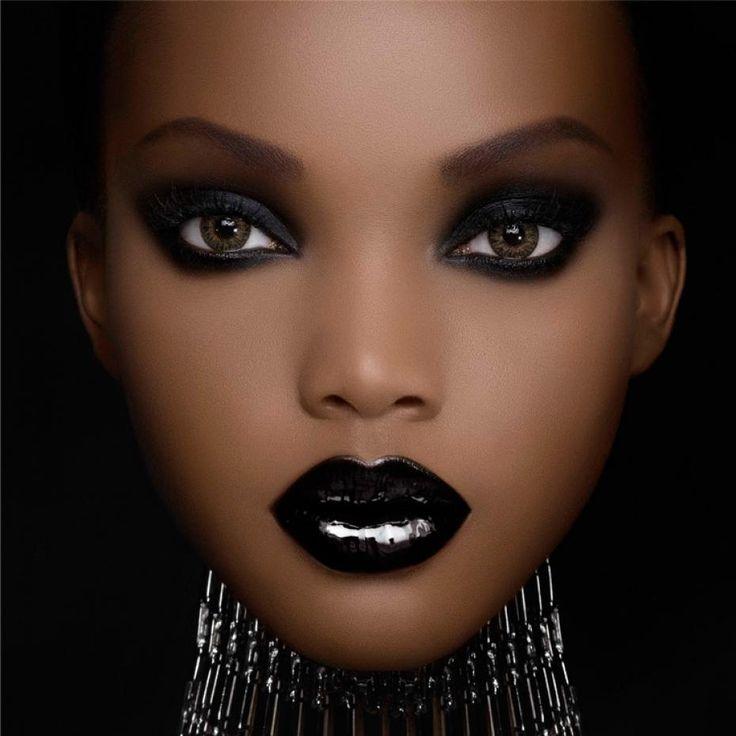 Maquillage Peau Noire Pas Cher