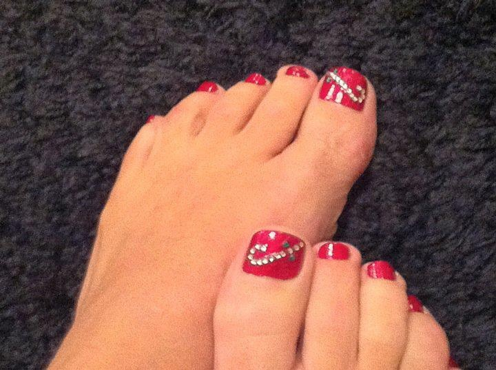 17 Best Images About Holiday Pedicures On Pinterest Nail