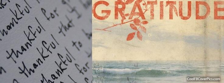gratitude   Pretty Facebook Covers   Pinterest   More Gratitude ideas