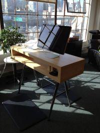 Ikea Standing Desk Hack - Adjustable | House Stuff ...