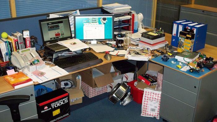 Messy Desk Meme  electronic lab  Pinterest  Labs Meme