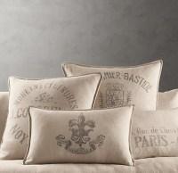 Restoration Hardware Throw Pillows