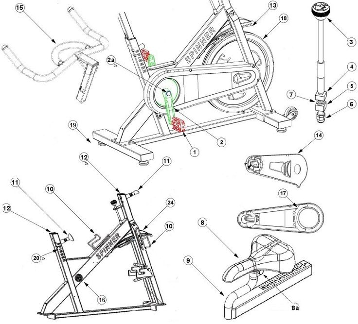 23 best images about Exercise Bike Parts on Pinterest