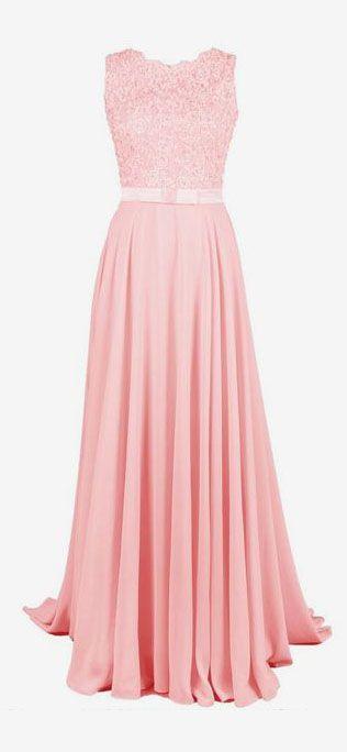 Best 20+ Baby pink prom dresses ideas on Pinterest