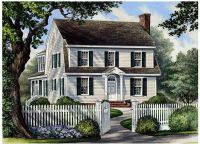 Colonial Cottage Country Farmhouse House Plan 86166 ...