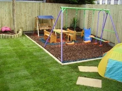 Want To Do This Around The Boys Play Area In Our Yard Will Make