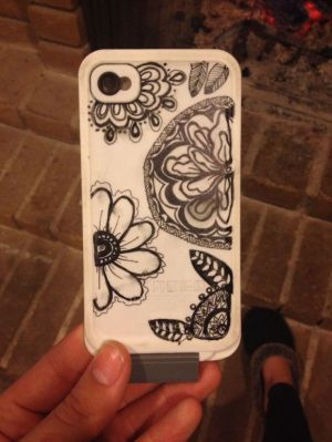 phone case drawings drawing cases line iphone phones