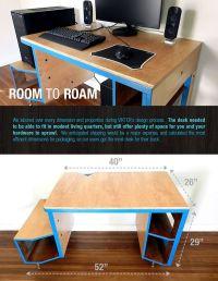 25+ best ideas about Gaming Desk on Pinterest | Pc setup ...
