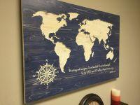 17 Best ideas about World Map Decor on Pinterest | Travel ...