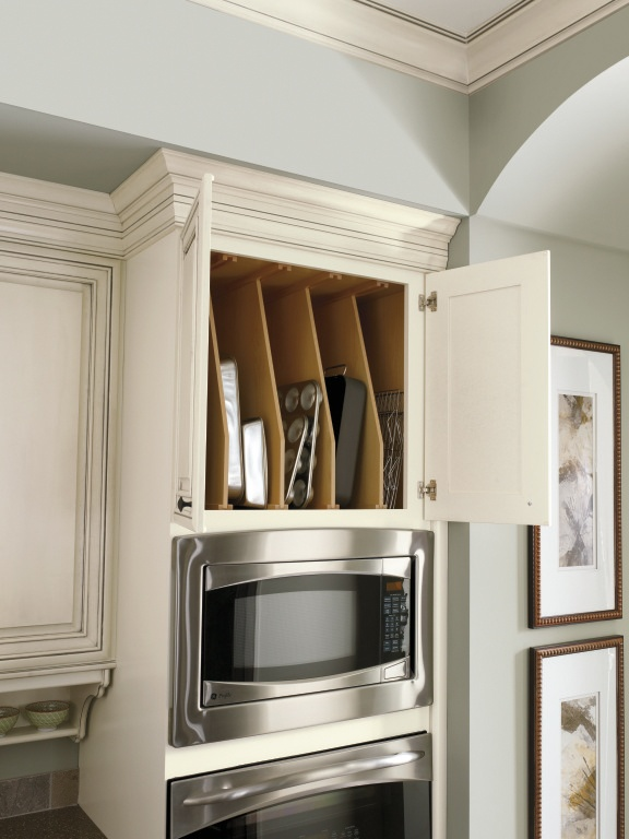 kitchen drawer organization ideas and bath showrooms near me diamond's tray divider cabinet keeps cookie sheets ...