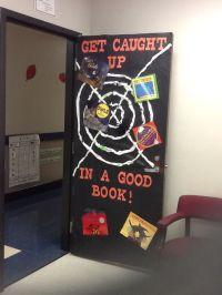 Classroom door decorated for Halloween! | Teaching ...