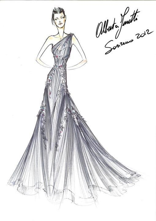 207 best images about haute couture sketches on Pinterest
