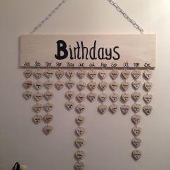 Want To Decorate My Living Room Gray And Blue Ideas Happy Met Onze Verjaardagskalender | Crea Pinterest ...
