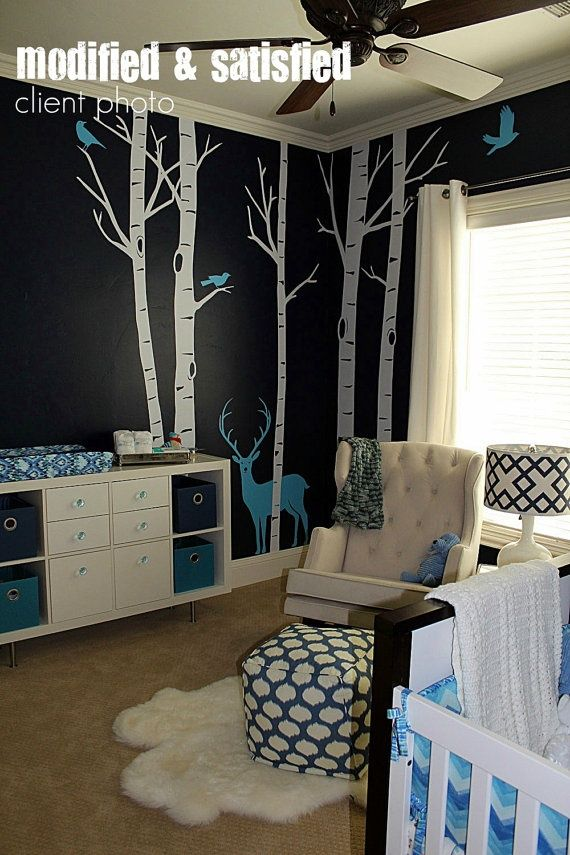 Coolest thing I seen for a baby boy room! Def. Doing this and would even fit a t