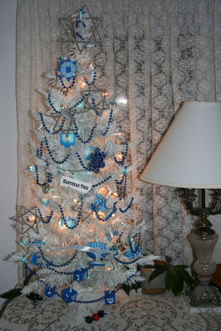 Hanukkah Tree Christmas Crazy Pinterest Trees