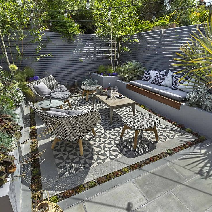 The 25 Best Small Patio Ideas On Pinterest Small Outdoor Patios