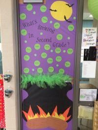 25+ bsta iderna om Halloween door decorations p ...