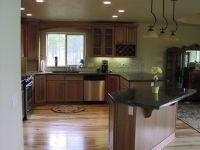 Dark Hickory Cabinets With Dark Wood Floors - Wood Floors