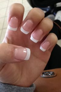 25+ best ideas about French Manicure Toes on Pinterest