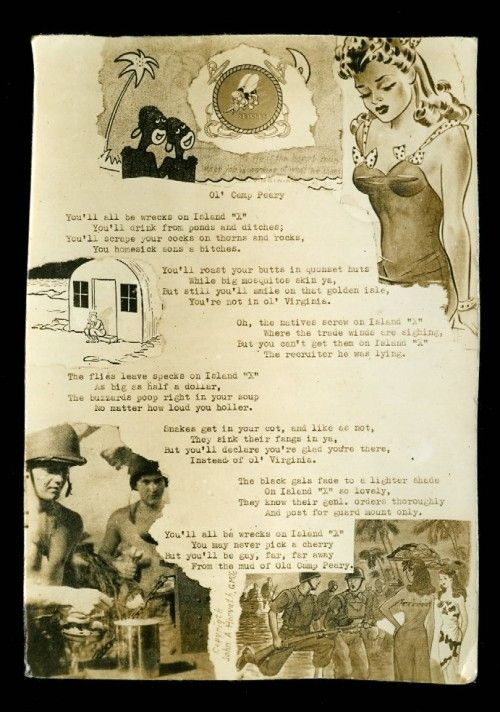 Vintage pin up altered art by Seabee John Horvath  Stuff