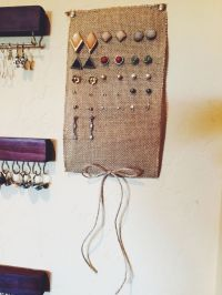 25+ Best Ideas about Diy Earring Holder on Pinterest ...