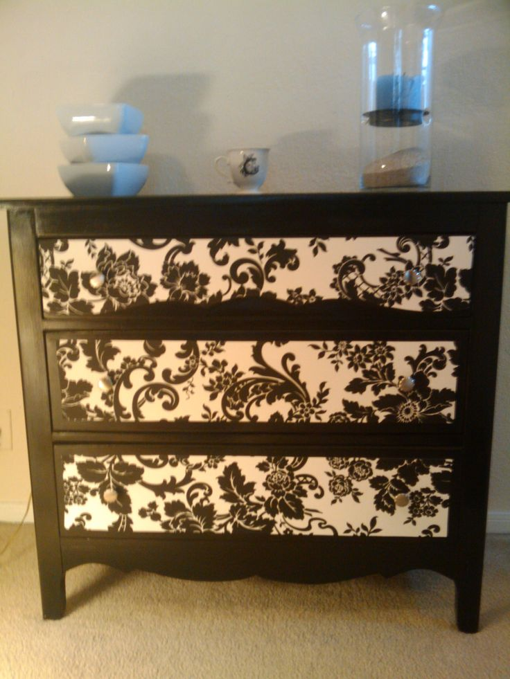 17 Best ideas about Decoupage Furniture on Pinterest  How