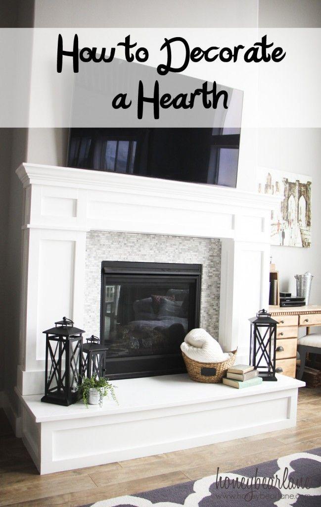 Best 25+ Fireplace hearth decor ideas on Pinterest