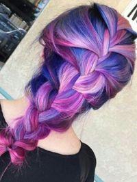 1000+ ideas about Purple Braids on Pinterest | Box braids ...