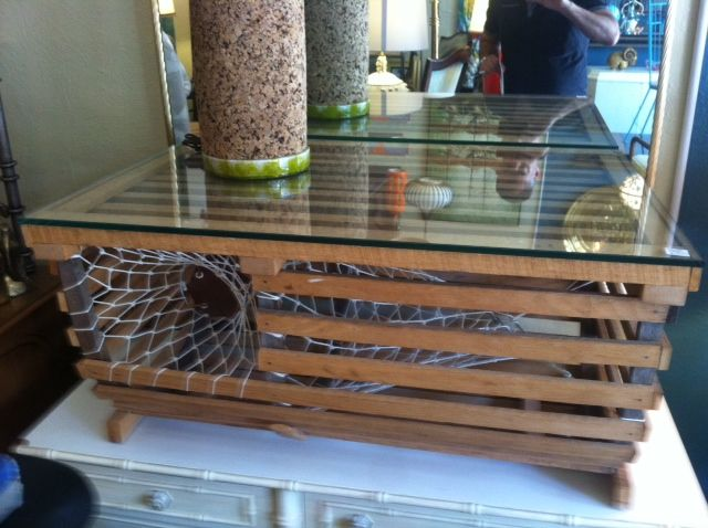 1000 images about Lobster trap table on Pinterest  Myrtle beach sc Home and Outdoor coffee tables