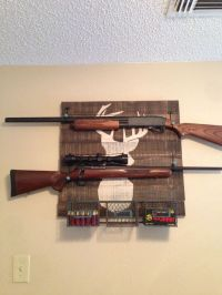 Best 25+ Gun racks ideas on Pinterest | Gun cabinets, Gun ...