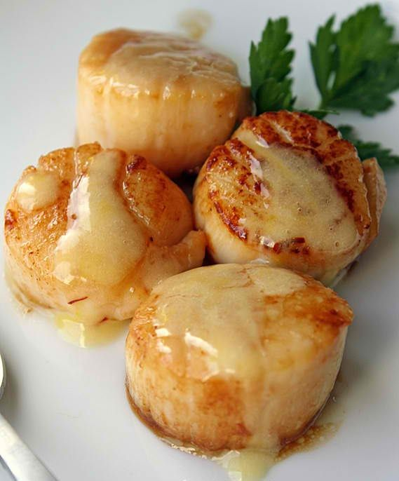 Seared Sea Scallops In Saffron Sauce Recipe: 6 tablespoons unsalted butter – divided 2 tablespoons ext