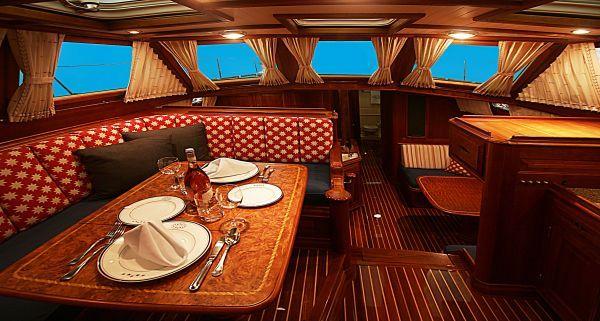 Sail Away Girl Thinks This Sailboat Interior Is WOW! Check