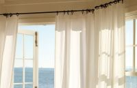 hanging curtains, how high to hang curtains, how to hang a ...