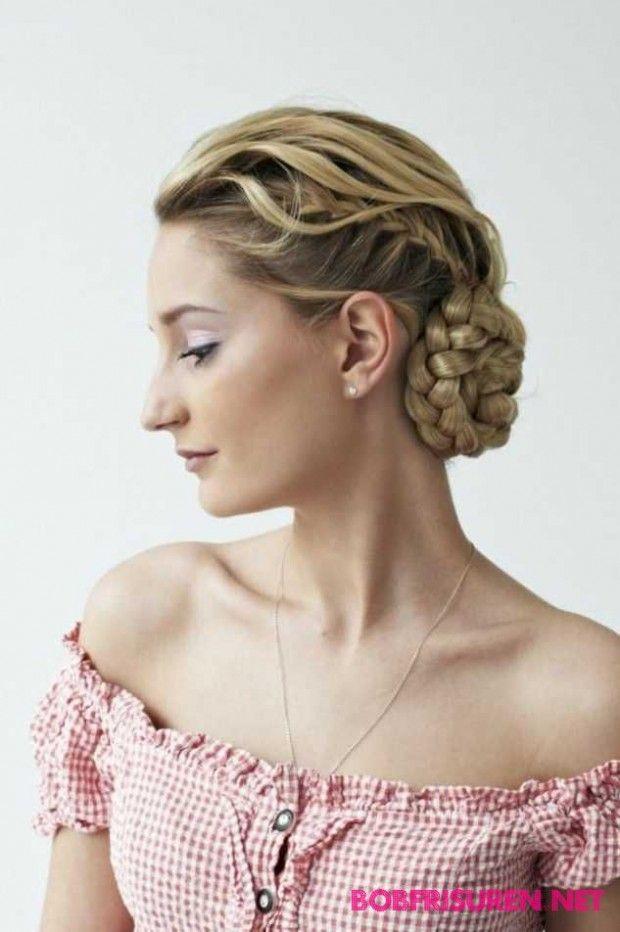 The 25 Best Dirndl Frisuren Ideas On Pinterest Hochzeitsfrisur