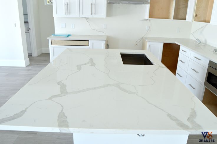 Kitchen Countertops  Material Calacatta Classique from