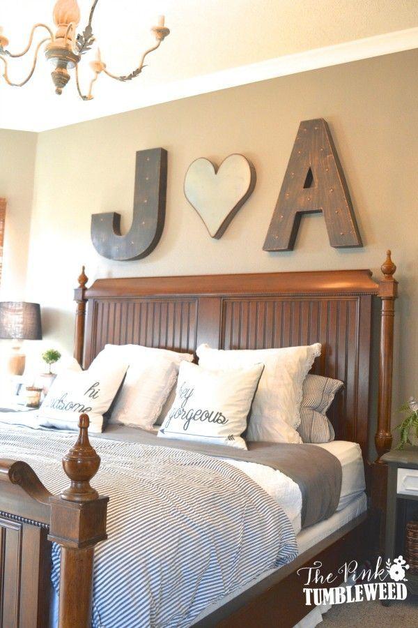17 Best ideas about Farmhouse Bedroom Decor on Pinterest