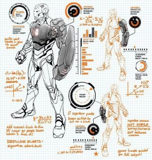 Ironman Modular Suit by Carlo Paguyan [ Marvel Now: Iron