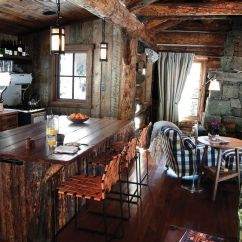 Kitchen Counter Stools With Backs Decor Best 20+ Small Cabin Kitchens Ideas On Pinterest