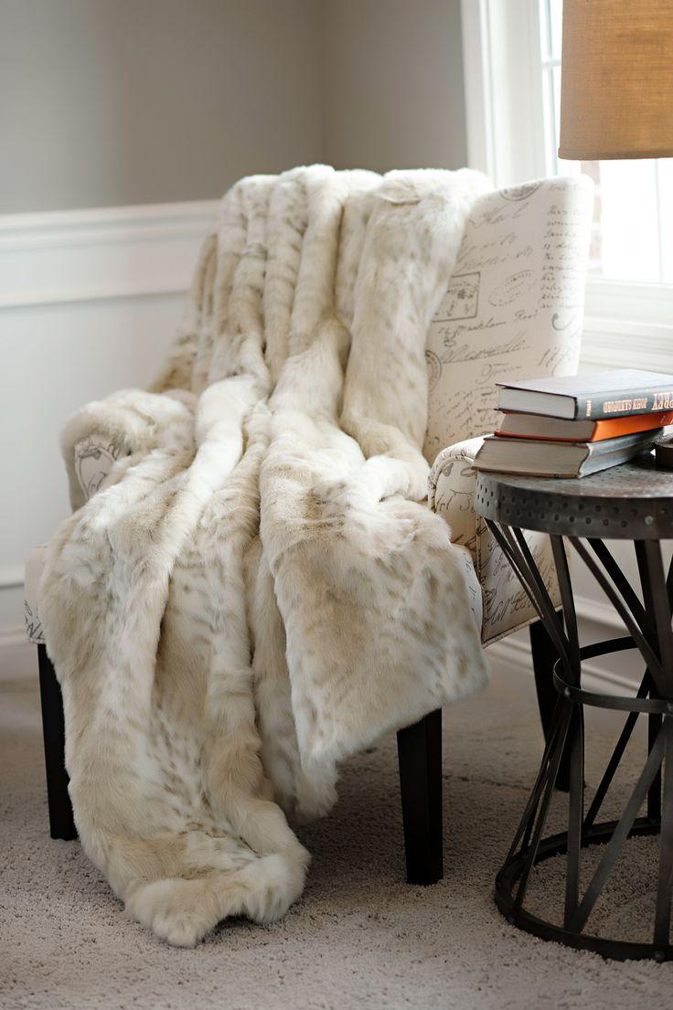 16 Best Images About Faux Fur Home Decor On Pinterest Wolves