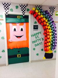 1000+ images about St. Patricks Day door ideas on