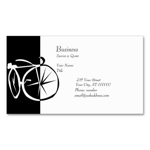 1000+ images about Bicycle Business Cards on Pinterest