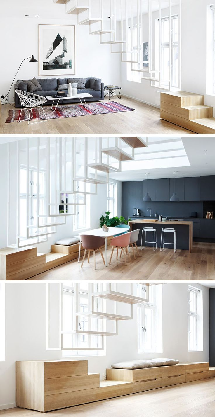 1000 ideas about Small Space Stairs on Pinterest  Small Staircase Extra Storage Space and
