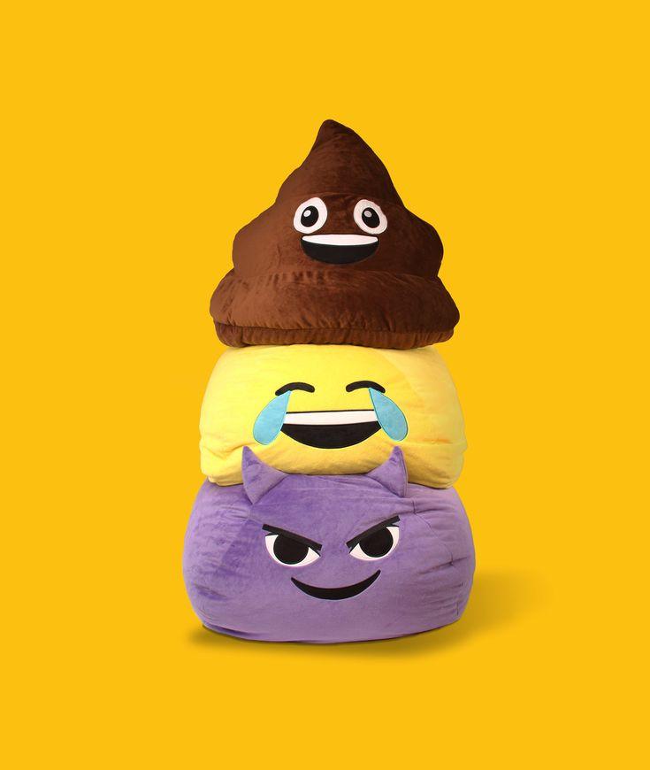 GoMoji emoji bean bags So fluffy and fun  GoMoji