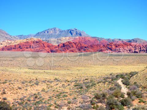 colorful high desert landscape